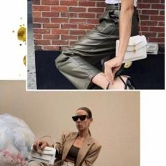 时尚博主街拍show 宝格丽大王联名款双蛇头包