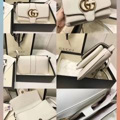 时尚大标志扣gucci arli包款式细节