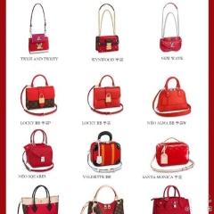 2020 lv新款红色女包款式盘点