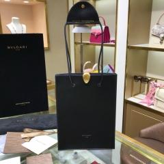 宝格丽 x 大王联名款宝格丽蛇头购物袋