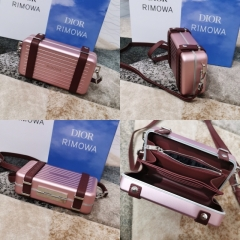 dior rimowa联名款盒子包款式细节